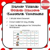 Disney Themed Guided Reading Carousel Timetable