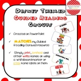 Disney Themed Guided Reading Groups (Characters)