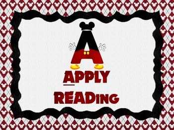 Disney Themed Guided Reading Stations Rotation Chart
