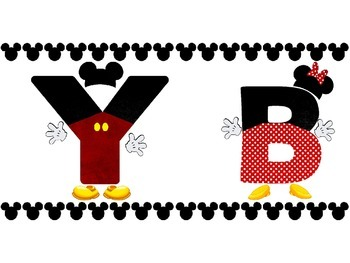 Disney Themed Happy Birthday Bulletin Board