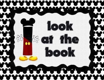 Disney Themed IPick Chart