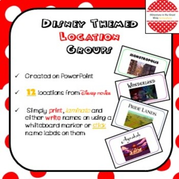 Disney Themed Location Groups