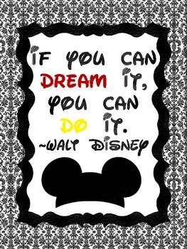 Disney Themed Poster