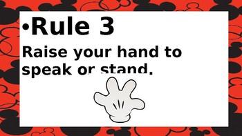 Disney Themed Rules