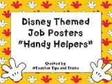 Disney Themed Students Jobs