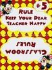 Disney Themed Whole Brain Classroom Rules