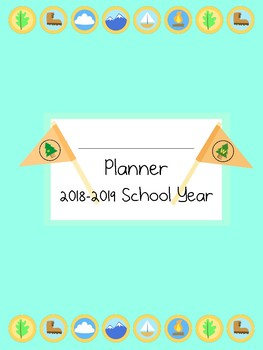 Disney Up Inspired 2018-2019 School Year Teacher Planner