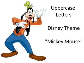 Disney - Uppercase Letters