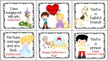 Disney Inspired Valentine's Day Cards