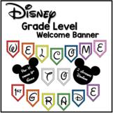 Disney Welcome Banner