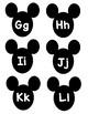 Disney Word Wall Letters