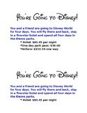 Disney World Decimal Activity