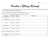 Disney World Elapsed Time