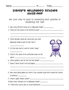 Disney World Mapping Activities