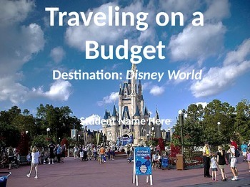 Disney World on a Budget PPP Template