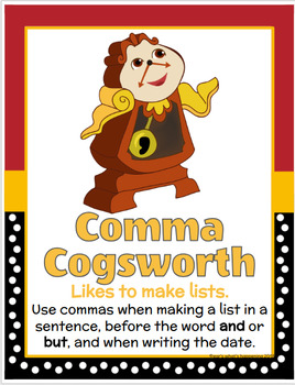 Disney Writer's Eye and Punctuation Friends Bundle