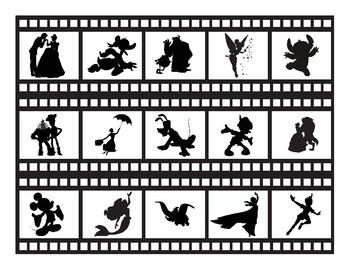 Disney filmstrip - border for the bulletin board