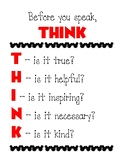 """Think"" Poster - Disney Theme"