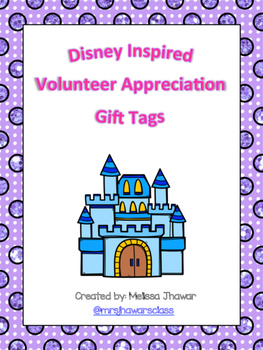 Disney inspired gift tags
