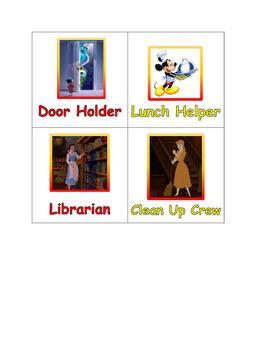 Disney job chart