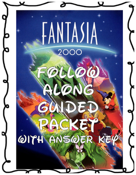 Disney's Fantasia 2000 Follow Along Packet--ON NETFLIX NOW
