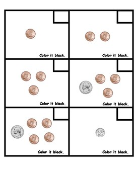 Disney's Minnie Mouse Counting Coins/Number Grid Coloring