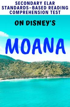 Disney's Moana (2016) Movie Guide/Analysis Multiple-Choice Test
