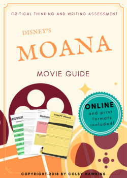 Disney's Moana (2016) Movie Guide + Activities + Sub Plan + Best Value