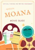 Disney's Moana (2016) Movie Guide + Activities + Sub Plan + Best Value