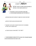 Disney's Mulan Movie Questions WITH KEY!