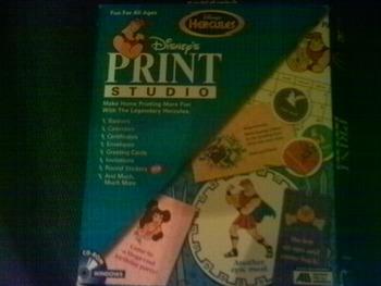 Disney's Print Studio Hercules