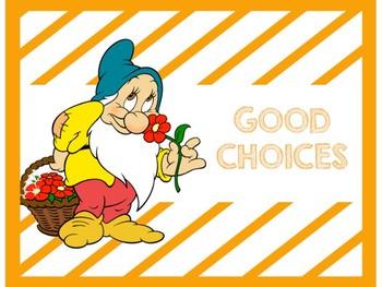 Disney's Snow White Clip Chart