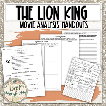 Disney's The Lion King Symbolism and Allegory Movie Analysis