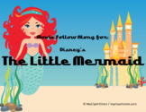 Disney's The Little Mermaid Movie follow along sheet & word search puzzle
