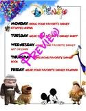 Disney spirit week