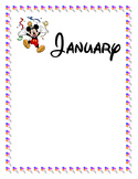 Disney theme birthday sheets