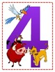 Disney themed numbers from 1-20 (BIG)