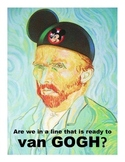 Disney van Gogh Line Poster