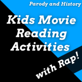 Fun Independent Reading Activities Using Disney Themed Rap Songs