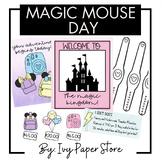 Disneyland/Disney Day Room Transformation Complete Decor and Activities Set
