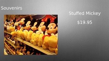 Disneyland Powerpoint Presentation Freebie  (Editable)