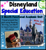 Disneyland Distance Learning Special Education Life Skills
