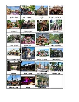 Disneyland Visual Schedule Icons