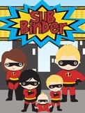 Hero Themed Sub Binder
