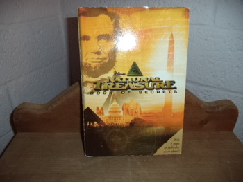 Disneys National Treasure  Book of Secrets  ISBN 13 -978-142310627-2