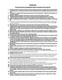 Disorders Quiz (DSM 5)