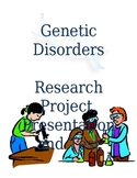Disorders and Diseases Research Project, Presentation, and Test
