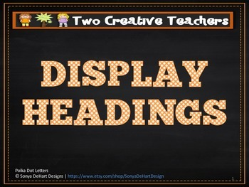 Display Banners - Blank Background