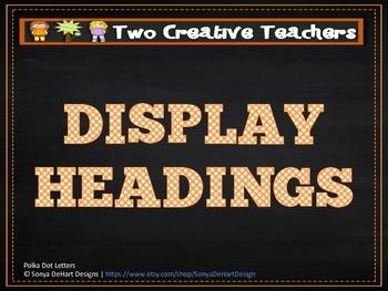 Display Banners - Chalkboard Theme