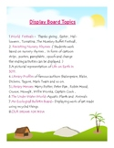 Display Board Presentation Topics